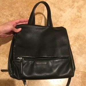 Givenchy pure pandora black crossbody medium purse